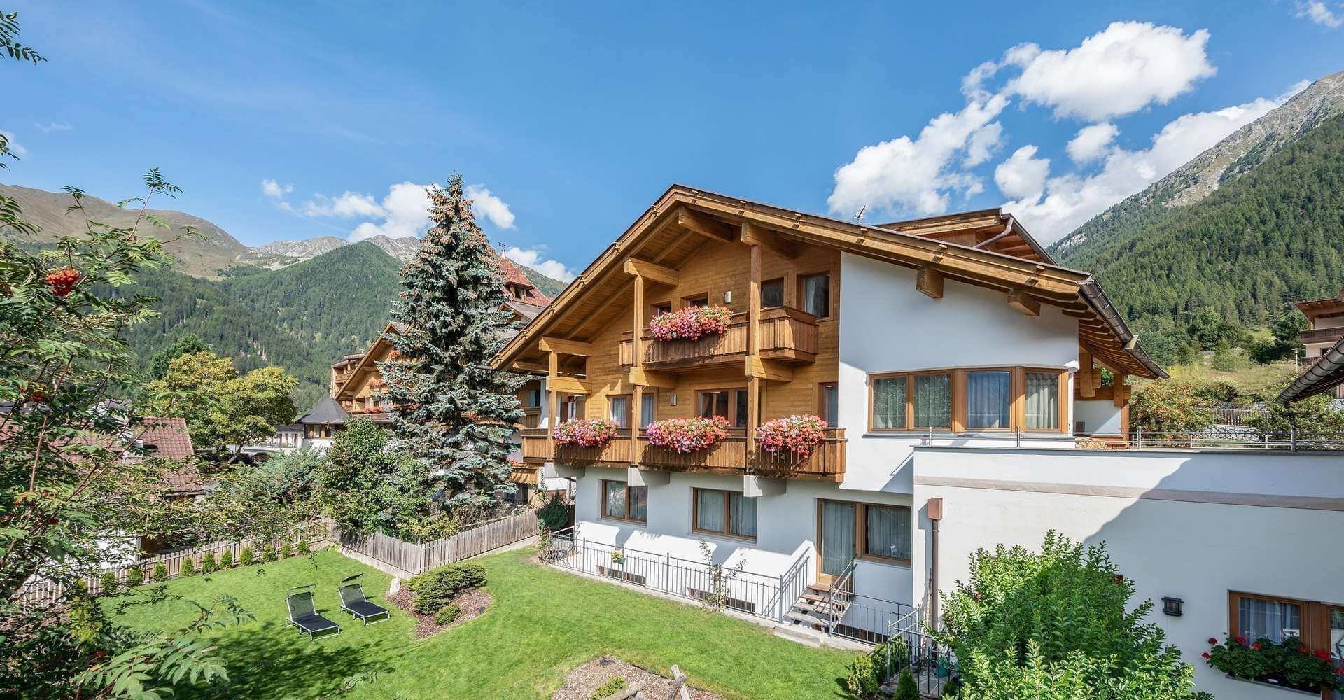 Unterkünfte Vals Südtirol
